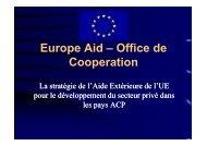 EuropeAid ACP Strategies Claudio Salinas [modalità compatibilità]