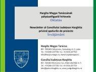 Oktatás pályázatfigyelő - Hargita Megye Tanácsa