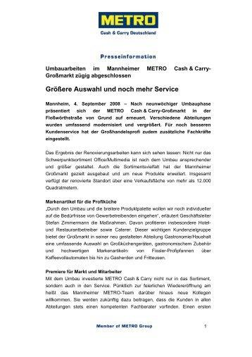 Kauf einer Dialysemaschine für ungarische Hilfseinrichtung - Metro