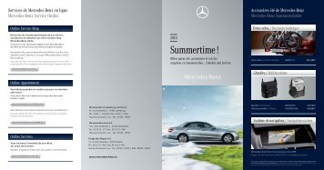 Summertime ! - Mercedes-Benz Luxembourg