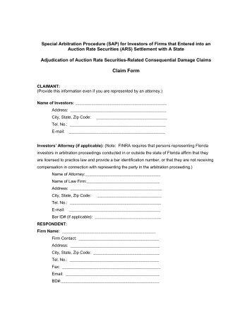 Form U5 Instructions - finra