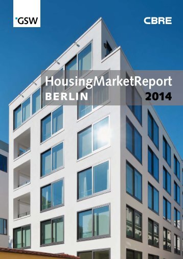 Berlin Housing Market Report