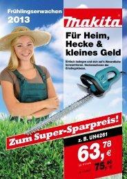 Zum Super-Sparpreis! - W.Hartmann & Co.