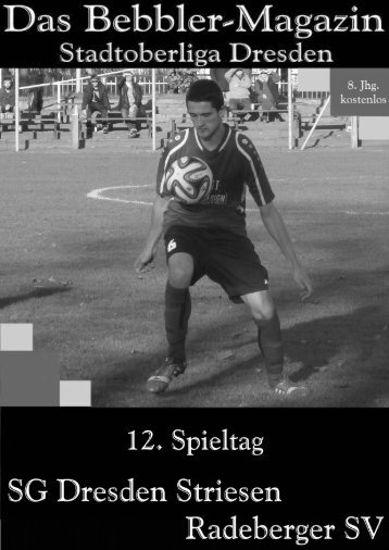 Das Bebbler-Magazin - 12. Spieltag 2014/2015
