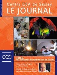 Journal de Saclay n°21 - CEA Saclay