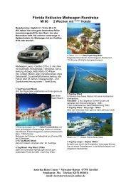 Florida Exklusive Mietwagen Rundreise - Mercator Reisen