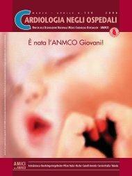 Cardiologia negli Ospedali n° 150 Marzo/Aprile 2006 - Anmco