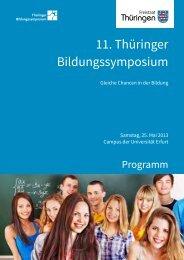 11. Thüringer Bildungssymposium - eTwinning