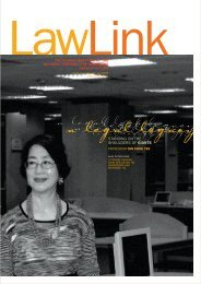 Vol 4 No. 1 January - June 2005 - Faculty of Law - National ...