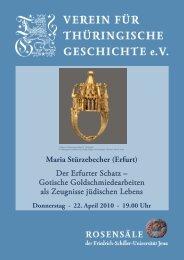 Maria Stürzebecher - Verein für Thüringische Geschichte