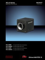download sony xcl-s600 brochure - Go Electronic