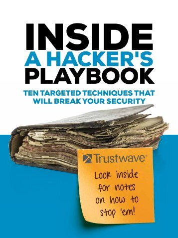 Inside a Hacker's Playbook