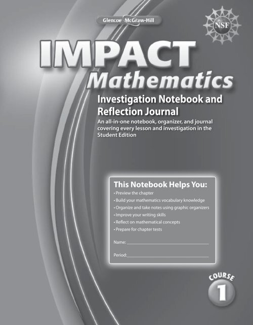 Investigation Notebook and Reflection Journal (3057.0K)
