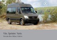 Vito. Sprinter. Vario. - Mercedes-Benz