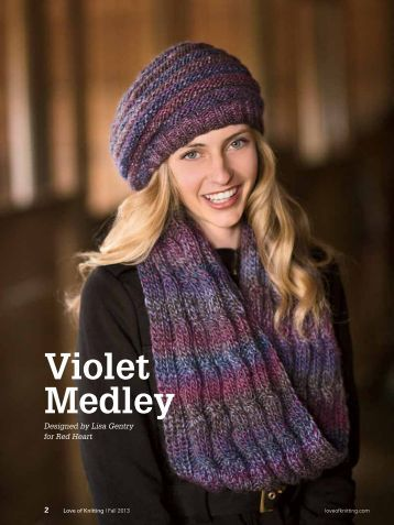 Download free web bonus pattern - Love of Knitting