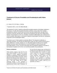 A prosztatitisrel vizelettel hogy sötét vizelet legyen Prostatitis és pszichoszomatika