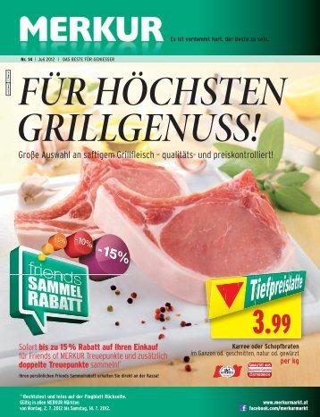 Große Auswahl an saftigem Grillfleisch – qualitäts- und - Merkur