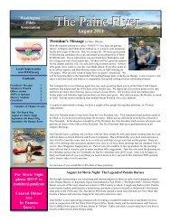Current Newsletter - Washington Pilots Association