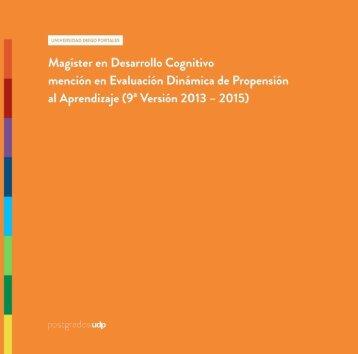Descargar Folleto - Centro Desarrollo Cognitivo