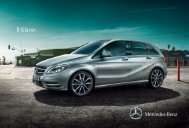 Brochure nieuwe B-Klasse downloaden (PDF) - Mercedes-Benz