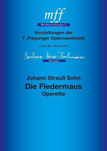 Die Fledermaus - Barbara Hesse-Bachmaier - mezzosopran