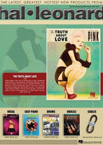 May - Hal Leonard Australia