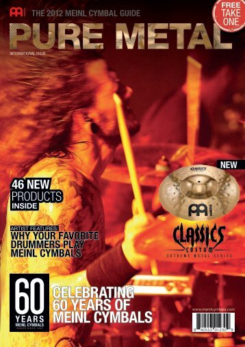 CELEBRATING 60 YEARS OF MEINL CYMBALS