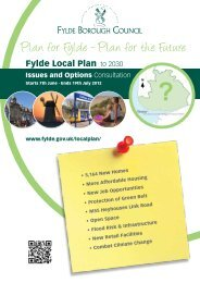 Issues and Options Spatial Summary - Fylde Borough Council