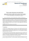 Drowsy Driver Detection via Steering Wheel - International ... - Page 7