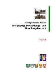 Integriertes Entwicklungs- und Handlungskonzept - Samtgemeinde ...