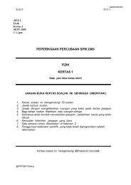 peperiksaan percubaan spm 2009 fizik kertas 1 - Trial Paper ...