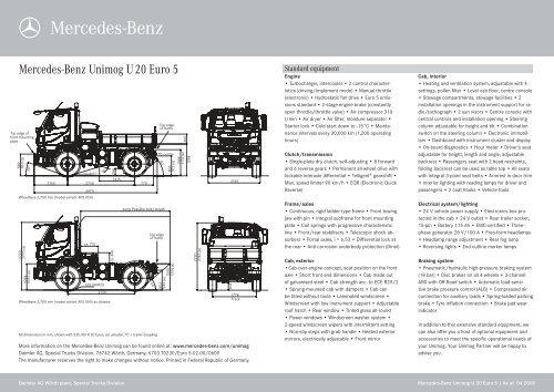 Mercedes-Benz Unimog U 20 Euro 5