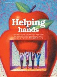 Helping hands - Australian Education Union