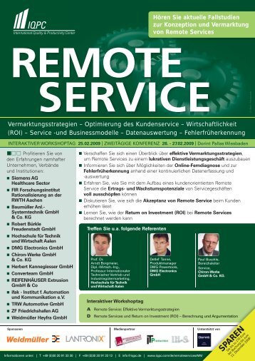 remote service - Weidmueller