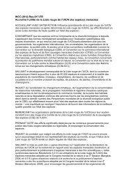 WCC-2012-Res-017-FR Accroître l'utilité de la Liste ... - IUCN Portals