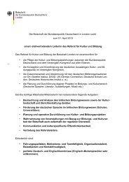 Die Botschaft der Bundesrepublik Deutschland in ... - DAAD London