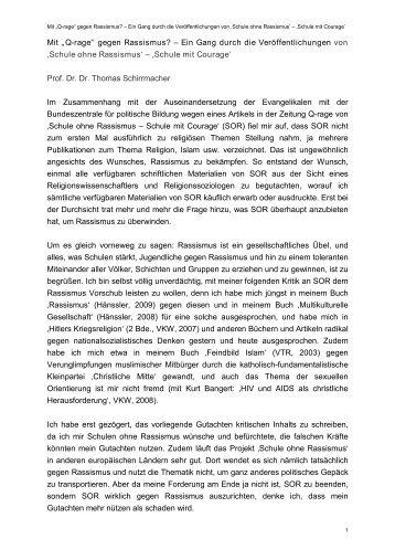 Gutachten - Evangelischer Arbeitskreis der CDU/CSU