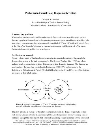 Archives problems with causal loop diagrams problems in causal loop diagrams revisited creative learning ibookread ePUb
