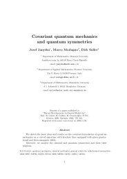 Covariant quantum mechanics and quantum symmetries