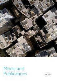 AKTC Publications List - Aga Khan Development Network