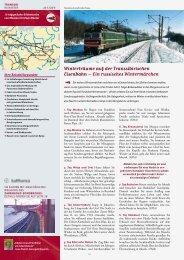 Winterträume auf der Transsibirischen Eisenbahn – Ein russisches ...