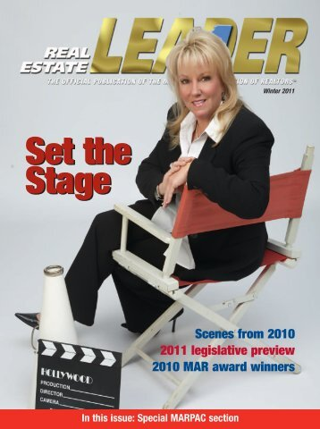 RE LEADER WINTER 2010dd - Mississippi Association of REALTORS