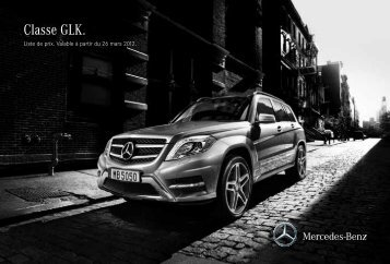 Classe GLK. - Mercedes-Benz Luxembourg