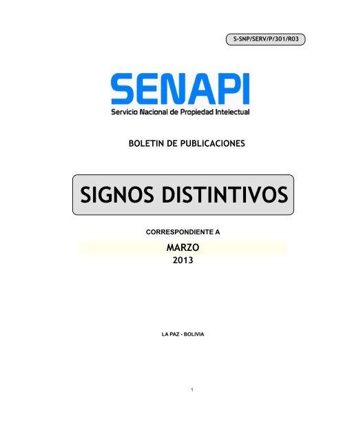 Signos Distintivos Servicio Nacional De Propiedad Intelectual