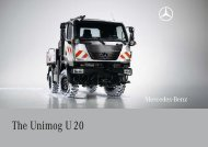 The Unimog U 20 - Mercedes Benz