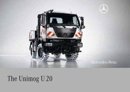 The Unimog U 20 - Mercedes Benz