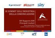 XIV Rapporto IEM - Fondazione Rosselli