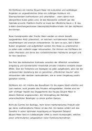 Mit Ed/Meiers Art möchte Eduard Meier mit kulturellen und ...