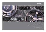 Wheels Preislist EN 3-2011.indd - MEC DESIGN