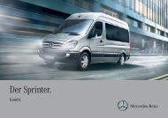 Sprinter Kombi - Mercedes-Benz Deutschland